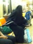 Este tipo de cosas raras son comunes en el metro de NY